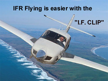 IFR Flying is easier with the I.F. Clip